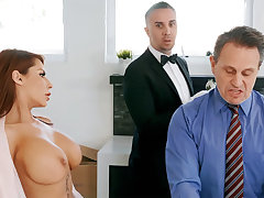 Saleable butler is ready apropos anal intrigue b passion housewife