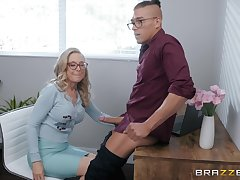 comme �a mature Nina Hartley is ready for hard penis after a long day